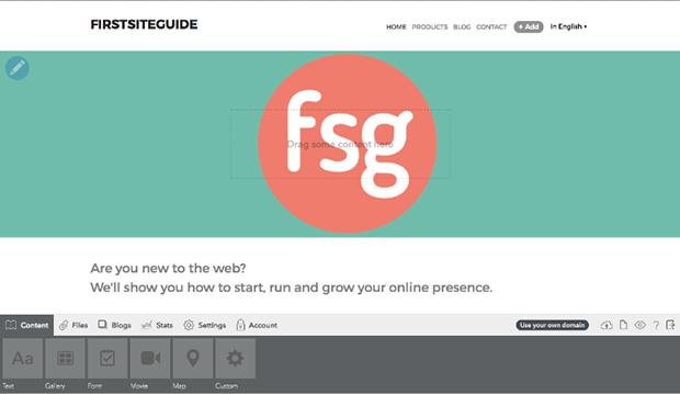Voog Creating Webpage
