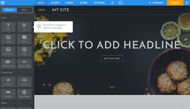Weebly Editing Website