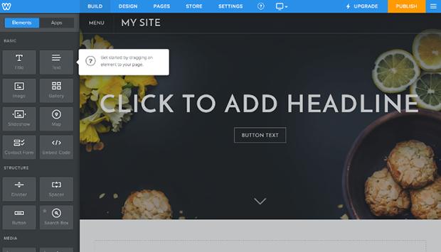 Weebly Editing Website