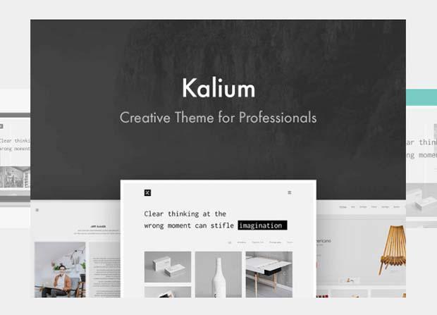 Kalium Theme Screenshot