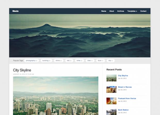 Meeta Theme Screenshot