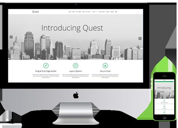 Quest Theme Screenshot