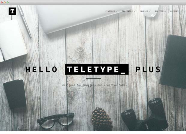 Teletype Plus Theme Screenshot