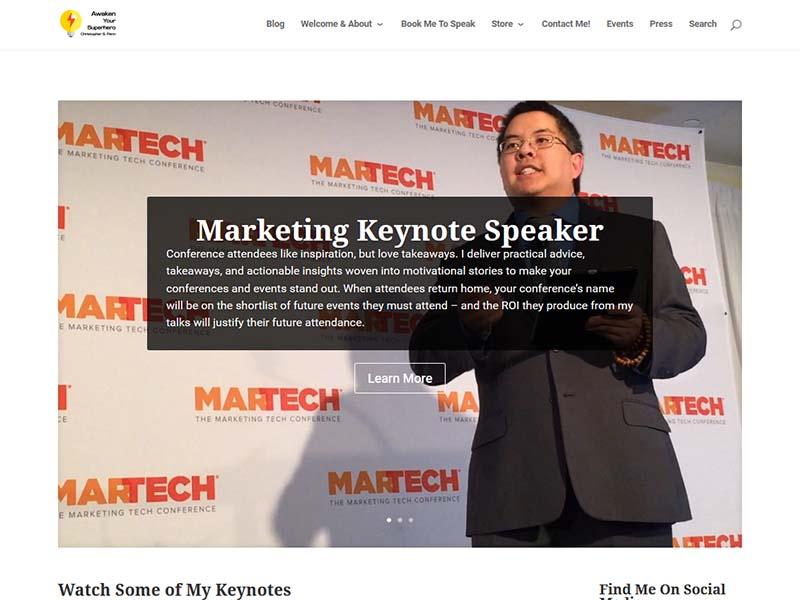Christopher S. Penn Blog - Website Screenshot