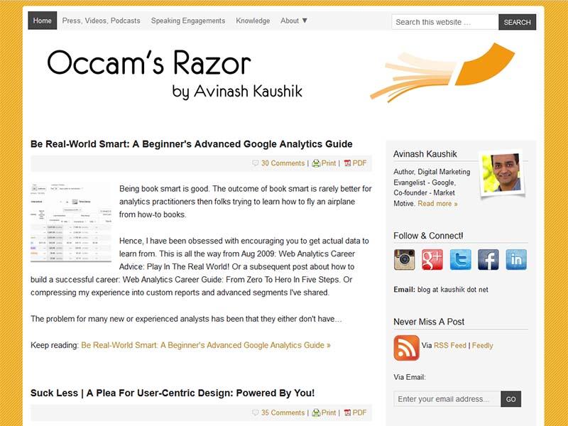 Kaushik - Website Screenshot