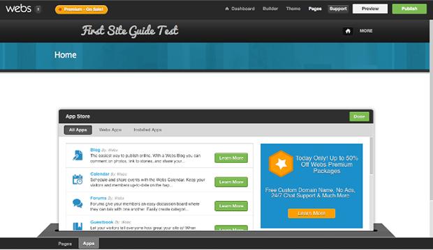 Webs Editing Website