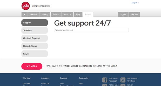 Yola Support