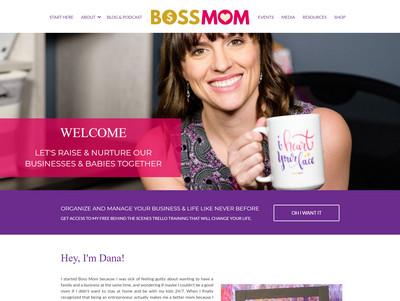 Dana Malstaff - Website Screenshot