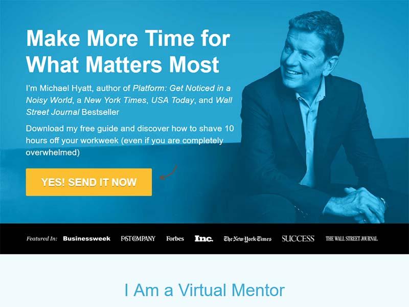 Michael Hyatt - Website Screenshot