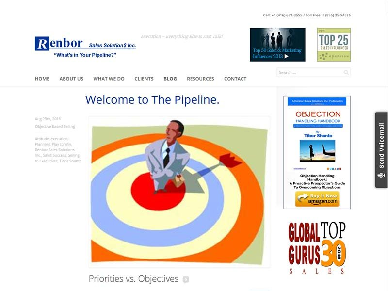 The Pipeline - Website Screenshot
