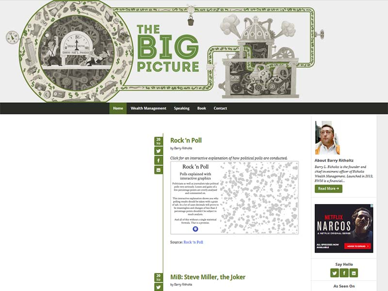 The Big Picture - Website Screenshot