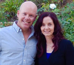 Lisa Sylvester Interview - Picture of Lisa and Marc
