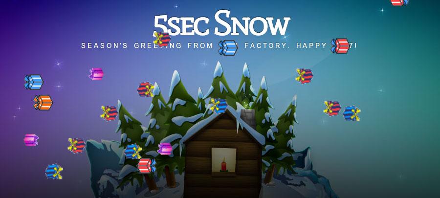 5sec Snow presents