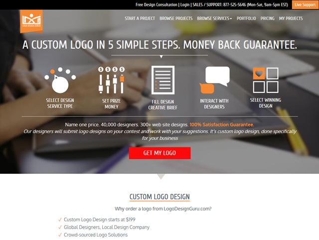 Janil Jean Interview - Logo Design Guru Website Screenshot