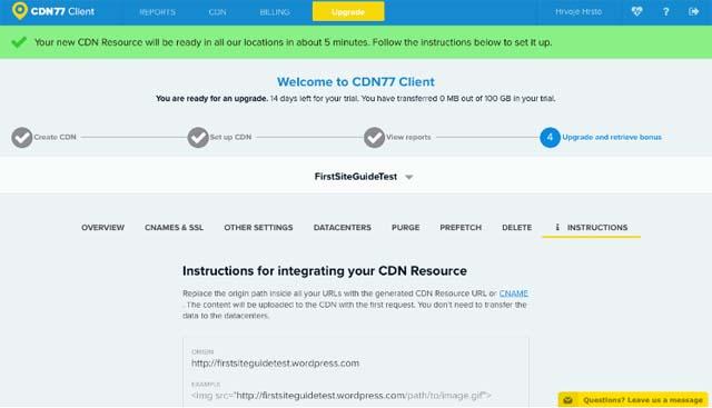 CDN77 client