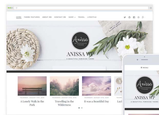 Anissa Theme Screenshot