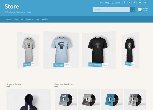 Store Theme Screenshot