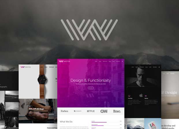 Weston Theme Screenshot