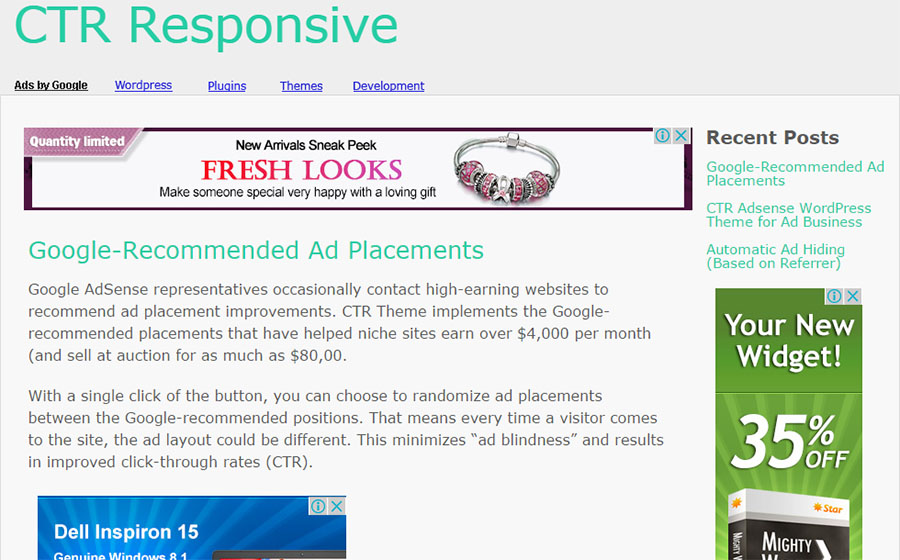 8 best WordPress AdSense themes for high CTR