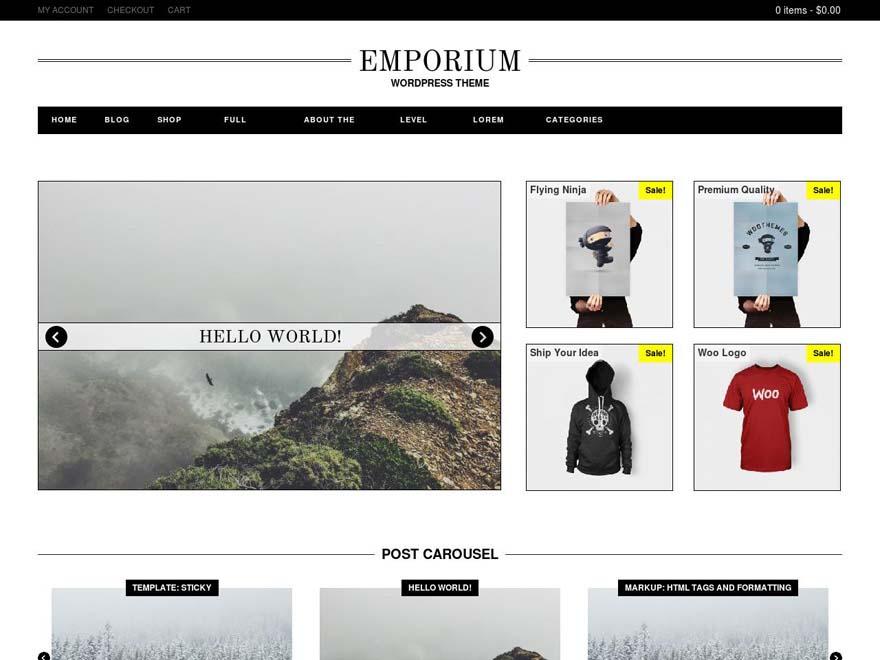 Emporium screenshot