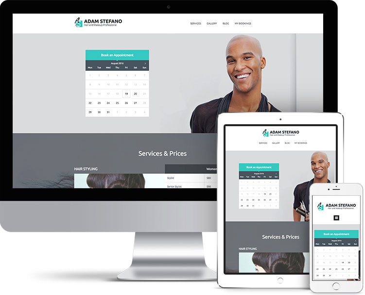 Entrepreneur Theme Screenshot