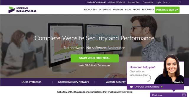 Incapsula Homepage