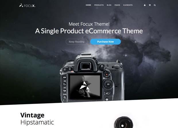 Focus Theme Screenshot