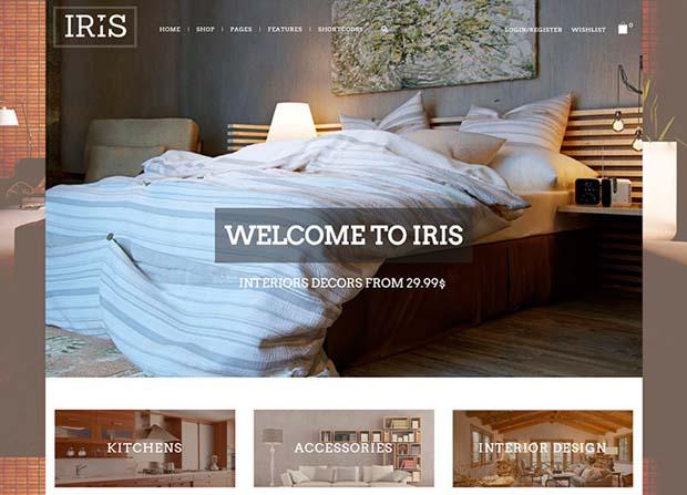 Iris Theme Screenshot