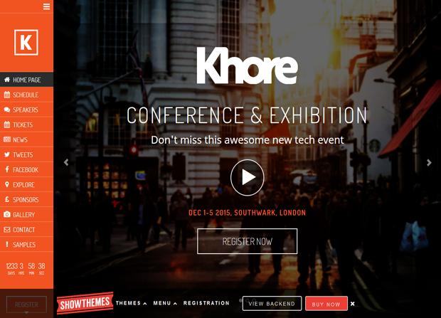 Khore Theme Screenshot