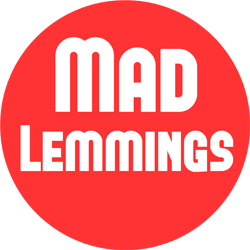 Image result for Images for Ashley Faulkes Mad Lemmings