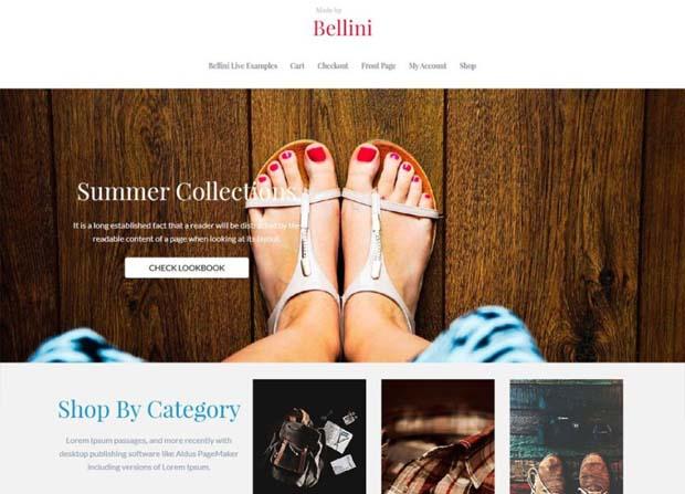 Bellini Plus Theme Screenshot