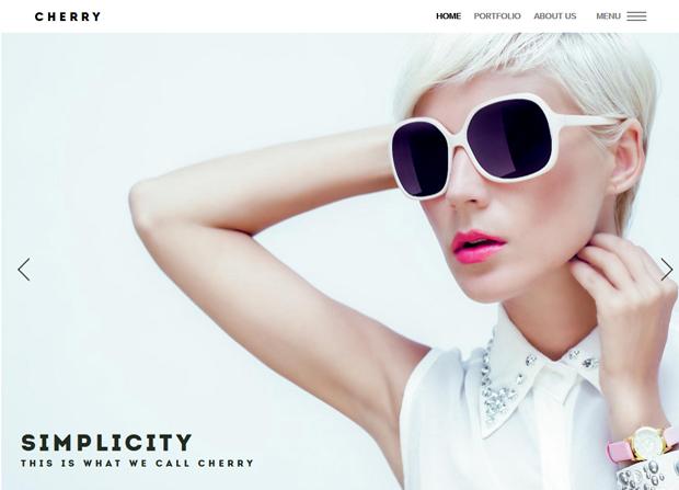Cherry Theme Screenshot