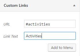 Activities ID link