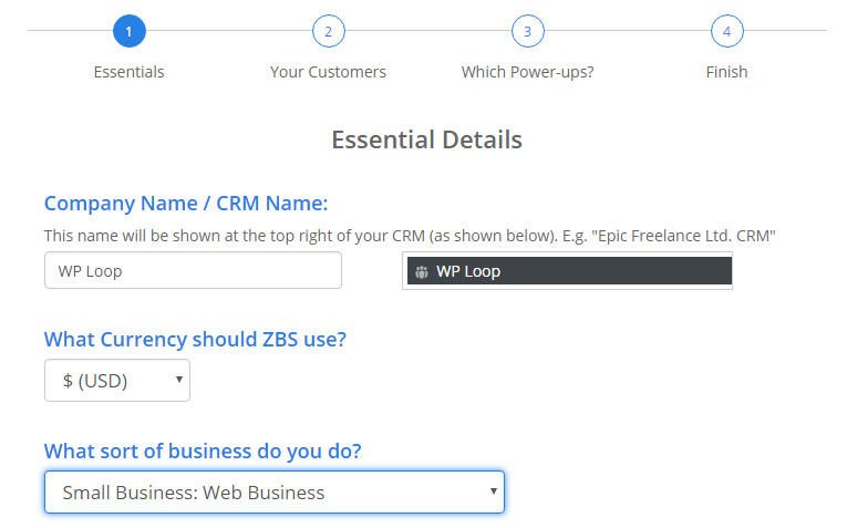 Zero BS WordPress CRM installation and setup