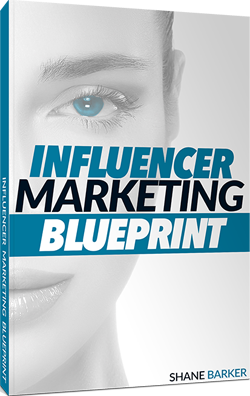 Shane Barker Interview - Cover for Influencer Marketing Blueprint