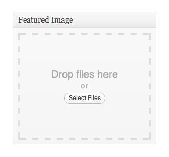 کشیدن و رها کردن تصویر در WordPress