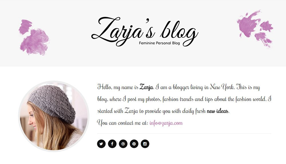 Zarja Blog
