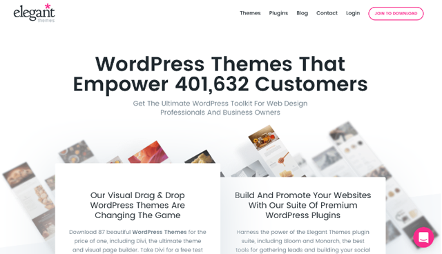 Elegant Themes Intro