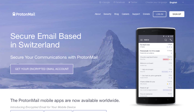 ProtonMail Intro