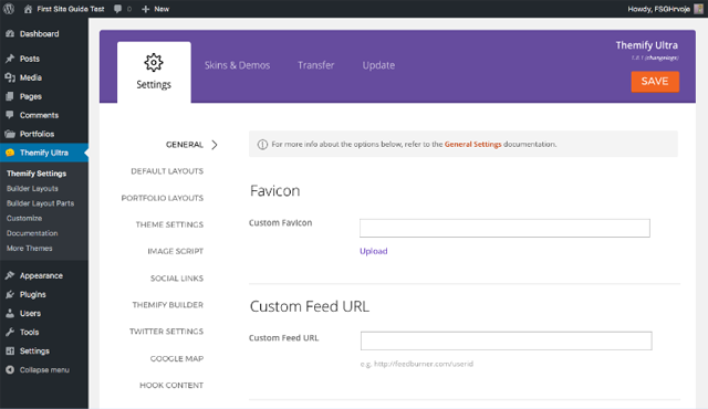 Themify User Panel 1
