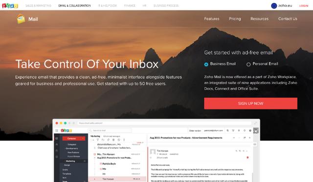 Zoho Mail Intro