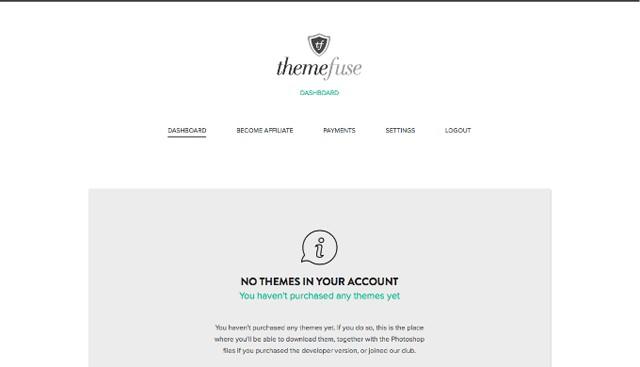 ThemeFuse Signing up