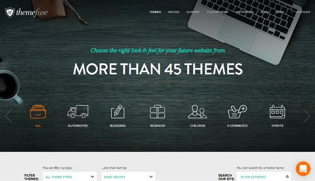 ThemeFuse Available Themes