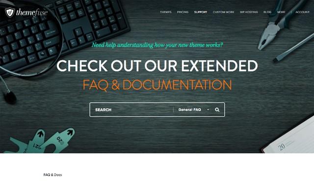 ThemeFuse FAQ & Documentation