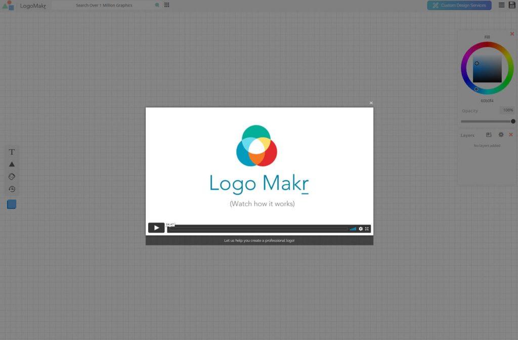 logomakr explanation video