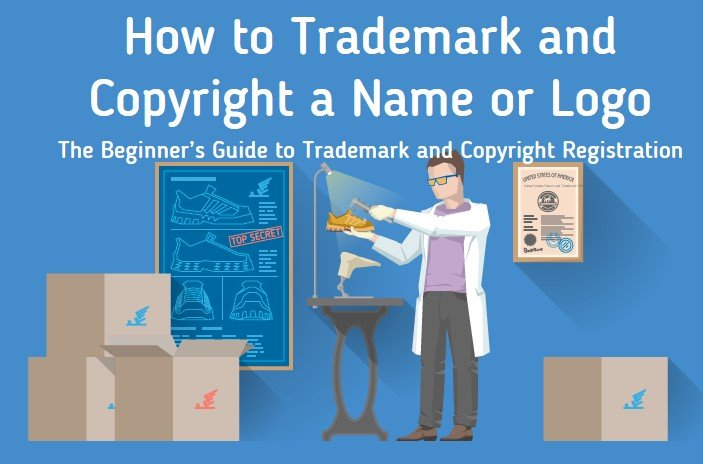 How To Trademark Or Copyright Your Brands Name Or Logo