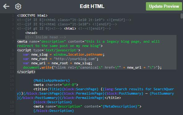 Tumblr Custom HTML