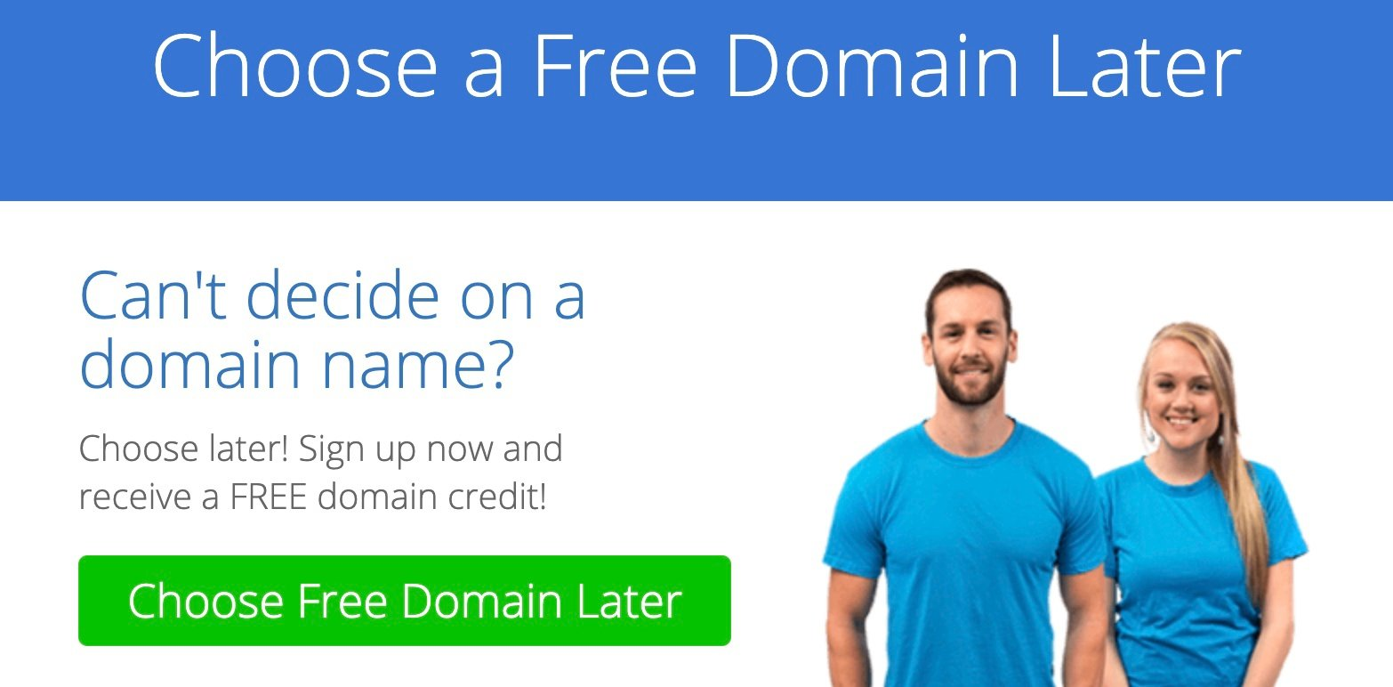 Free Domain Later