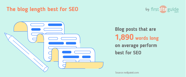 best blog length for seo