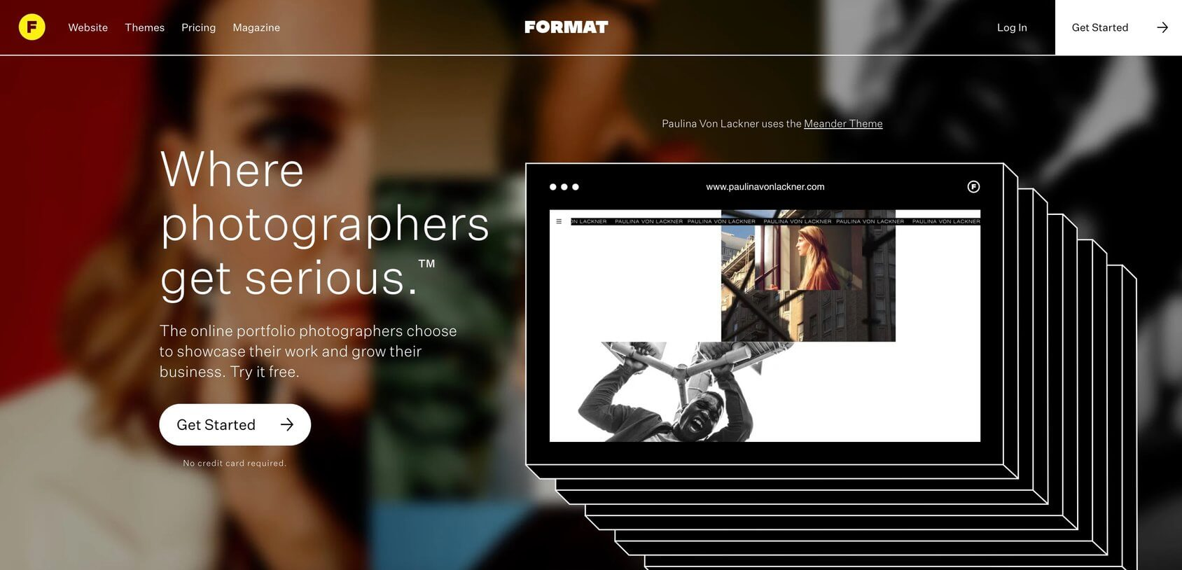 Format homepage